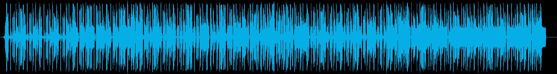 ジャジーなエレピでのゆったりヒップホップの再生済みの波形
