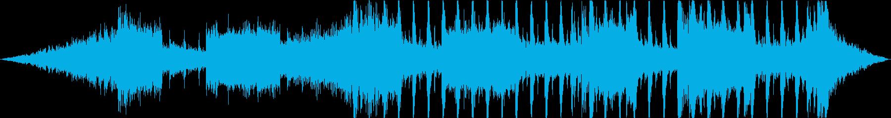 テクノ系テクスチャー 30秒CM向けの再生済みの波形