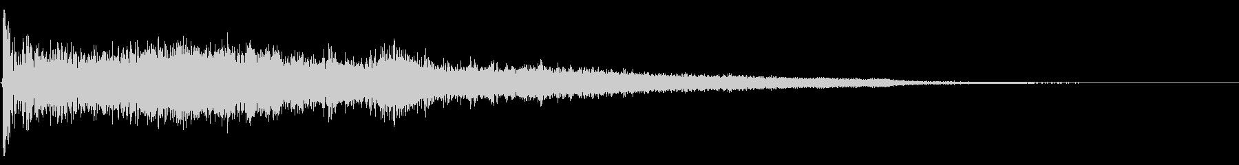 ハードインパクトジッパースイープ2の未再生の波形