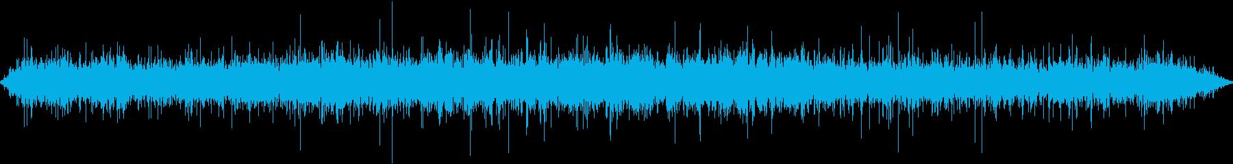 水中河川のラピッド:低気泡とゴボゴ...の再生済みの波形