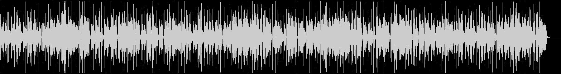 定番曲:ほのぼのとした日常Aの未再生の波形