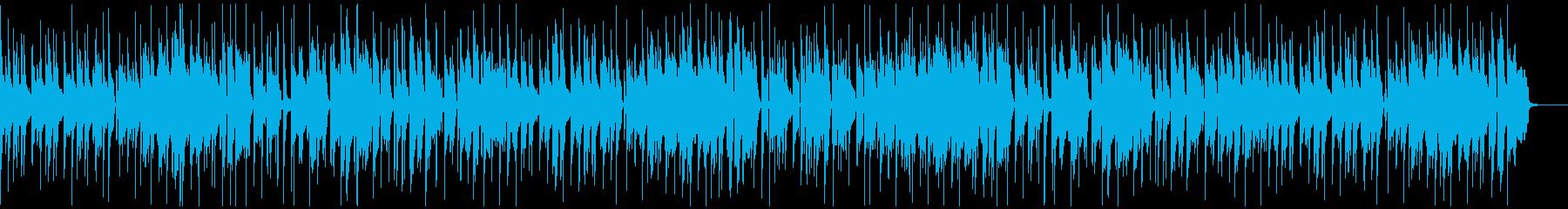 定番曲:ほのぼのとした日常Aの再生済みの波形