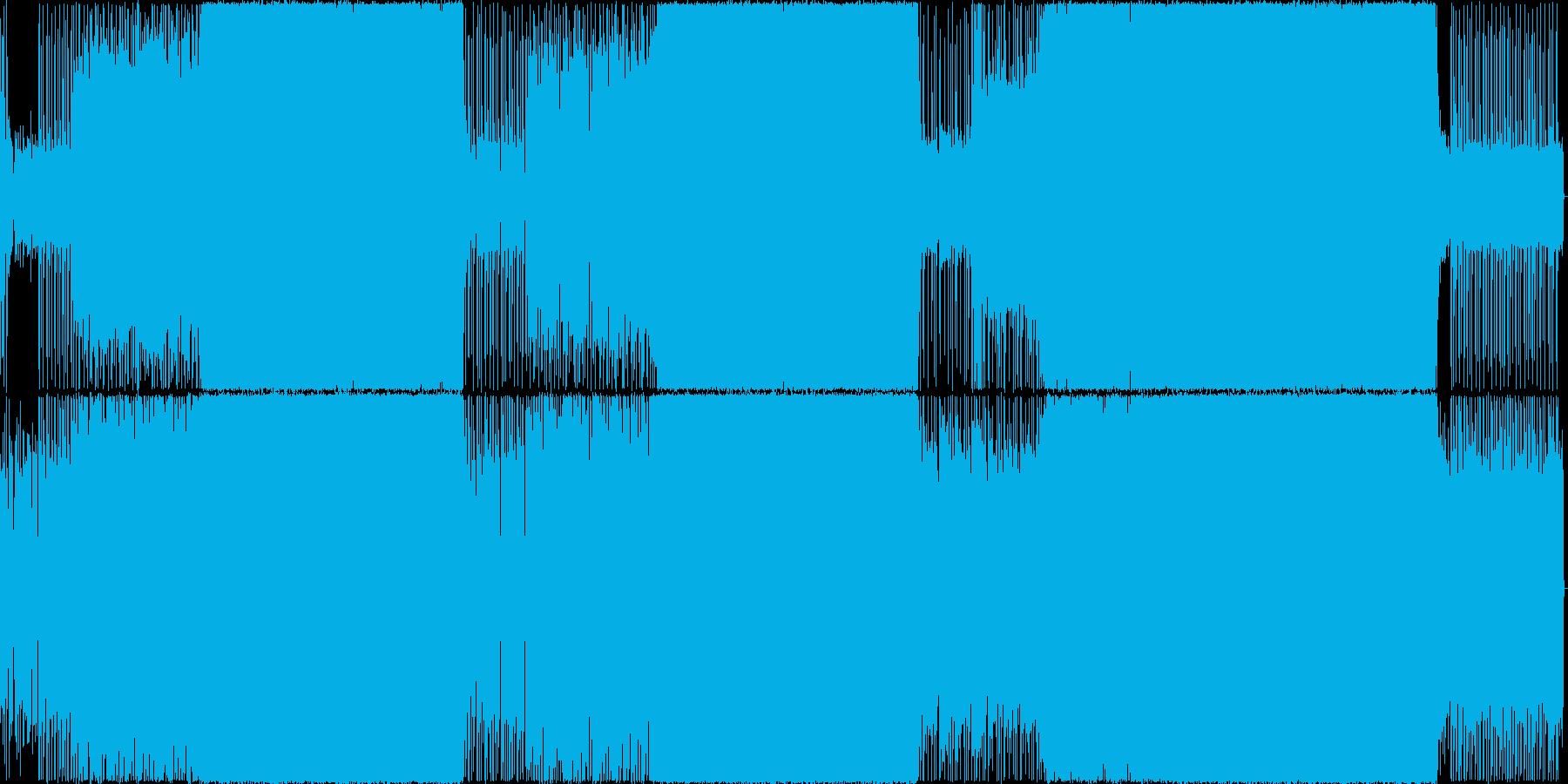 生演奏。ギターリフが印象的な疾走系ロックの再生済みの波形