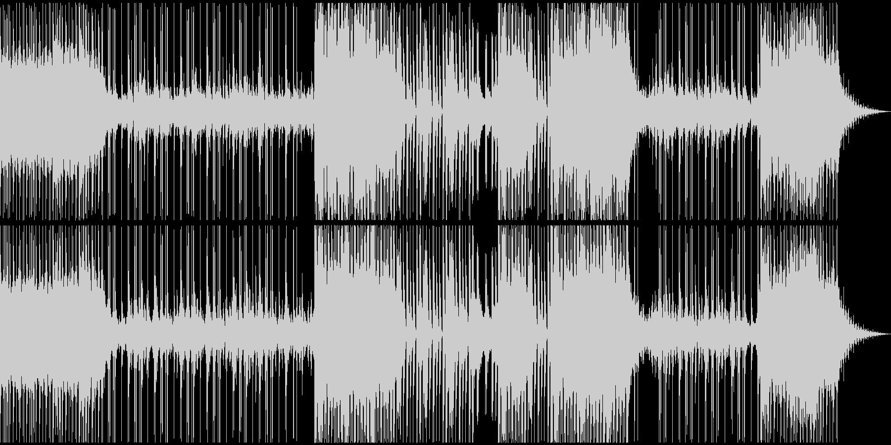 危機的な状況(チェロが印象的なテクノ)の未再生の波形