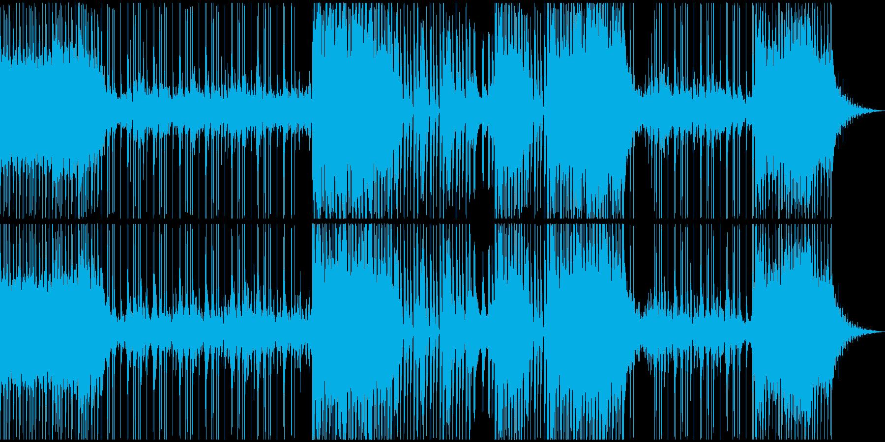 危機的な状況(チェロが印象的なテクノ)の再生済みの波形