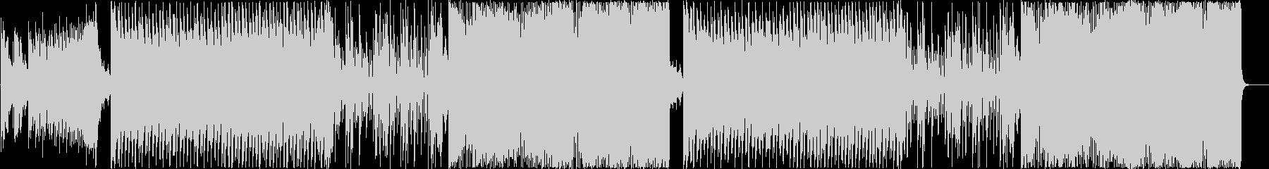 クラブ系ハードEDM、K-POPトラックの未再生の波形