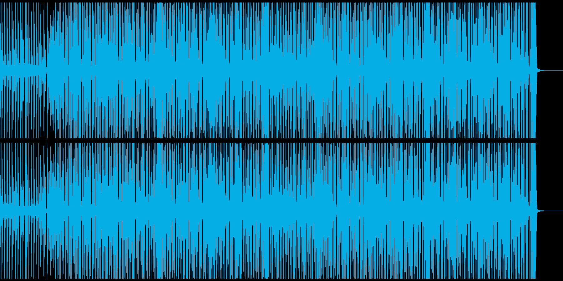 スタイリッシュで清々しいヒップホップの再生済みの波形