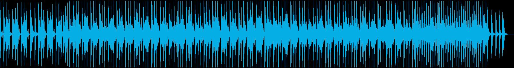 可愛らしいほのぼのポップスの再生済みの波形