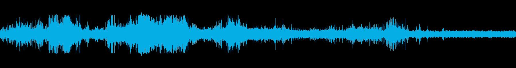 タンクトレッドパスの再生済みの波形