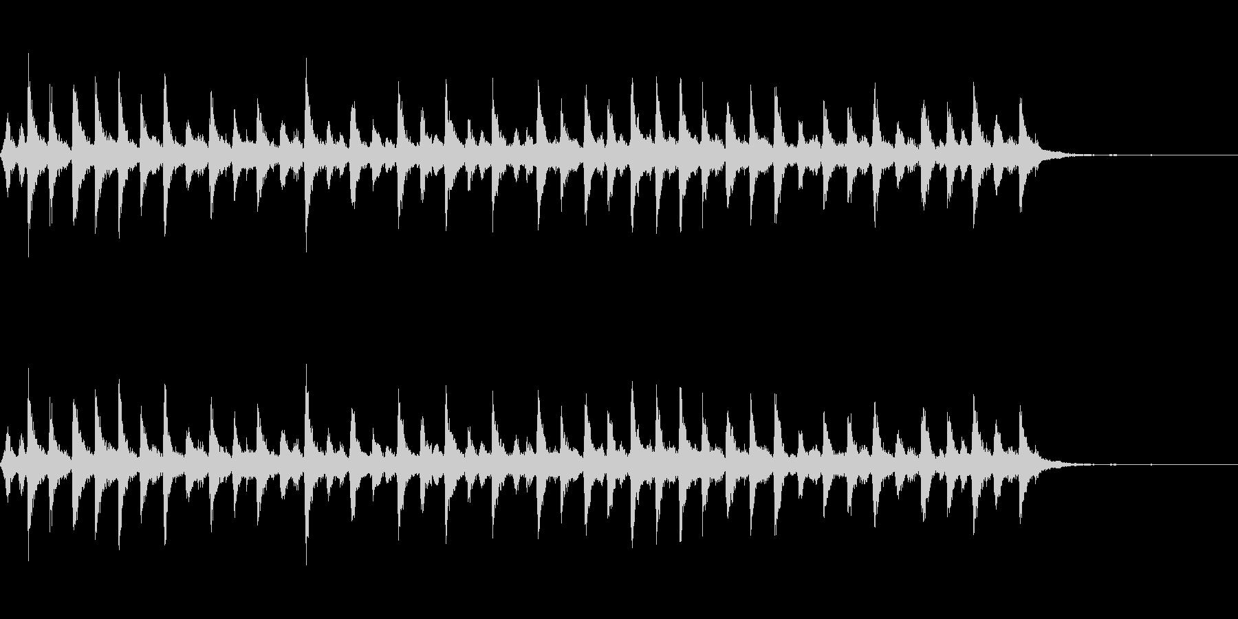一定のリンギング、速いベルの未再生の波形