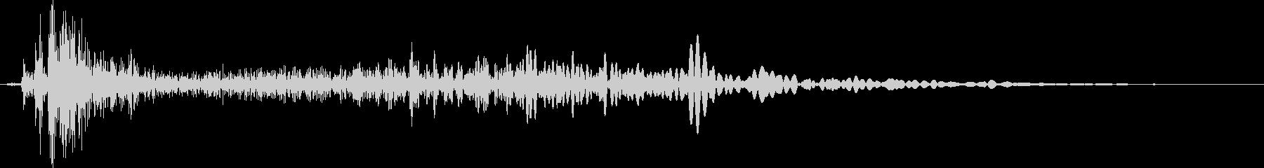 汎用ボタン4 ページ送り・セット等の未再生の波形
