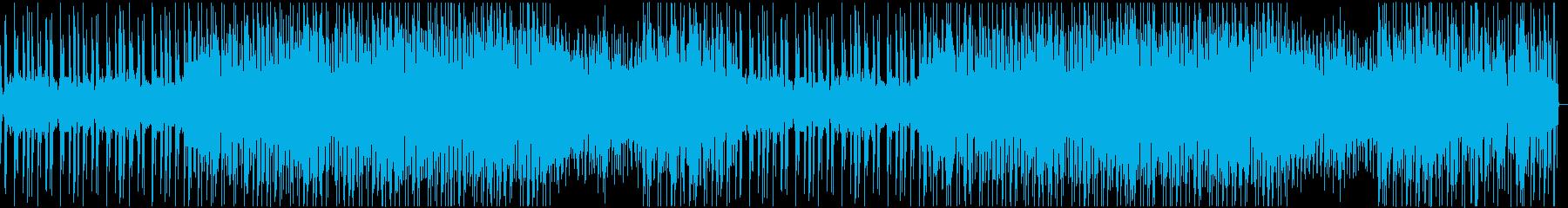 【YouTube】神秘的でクラブっぽい曲の再生済みの波形