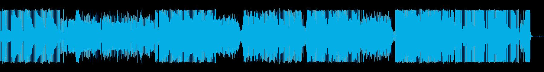 反復的、単純化、サイケデリック。パ...の再生済みの波形