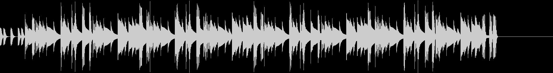 シンセベースとリズムボックス ジングル1の未再生の波形