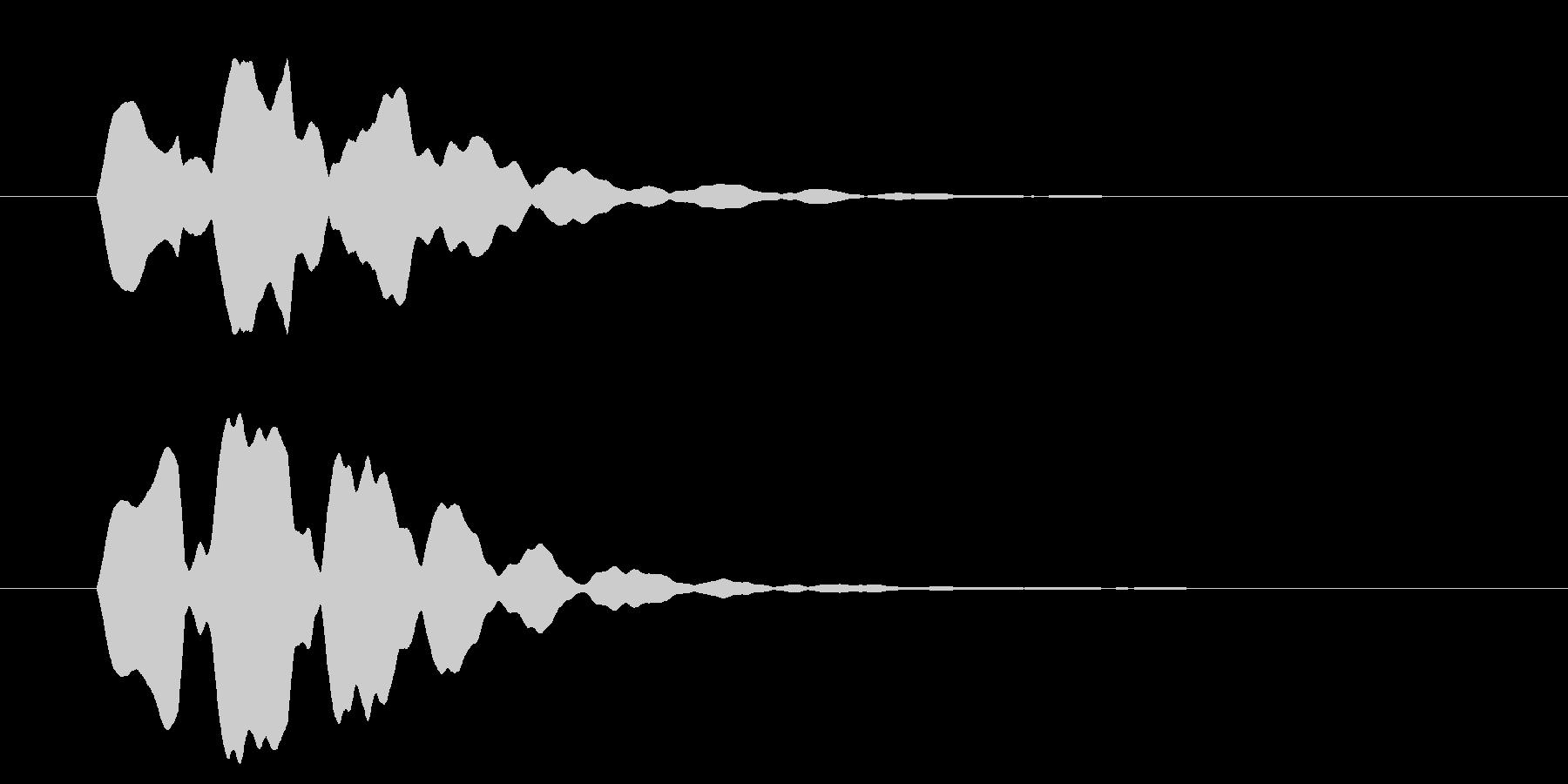 改札 ビープ音01-14(音色2 遠)の未再生の波形