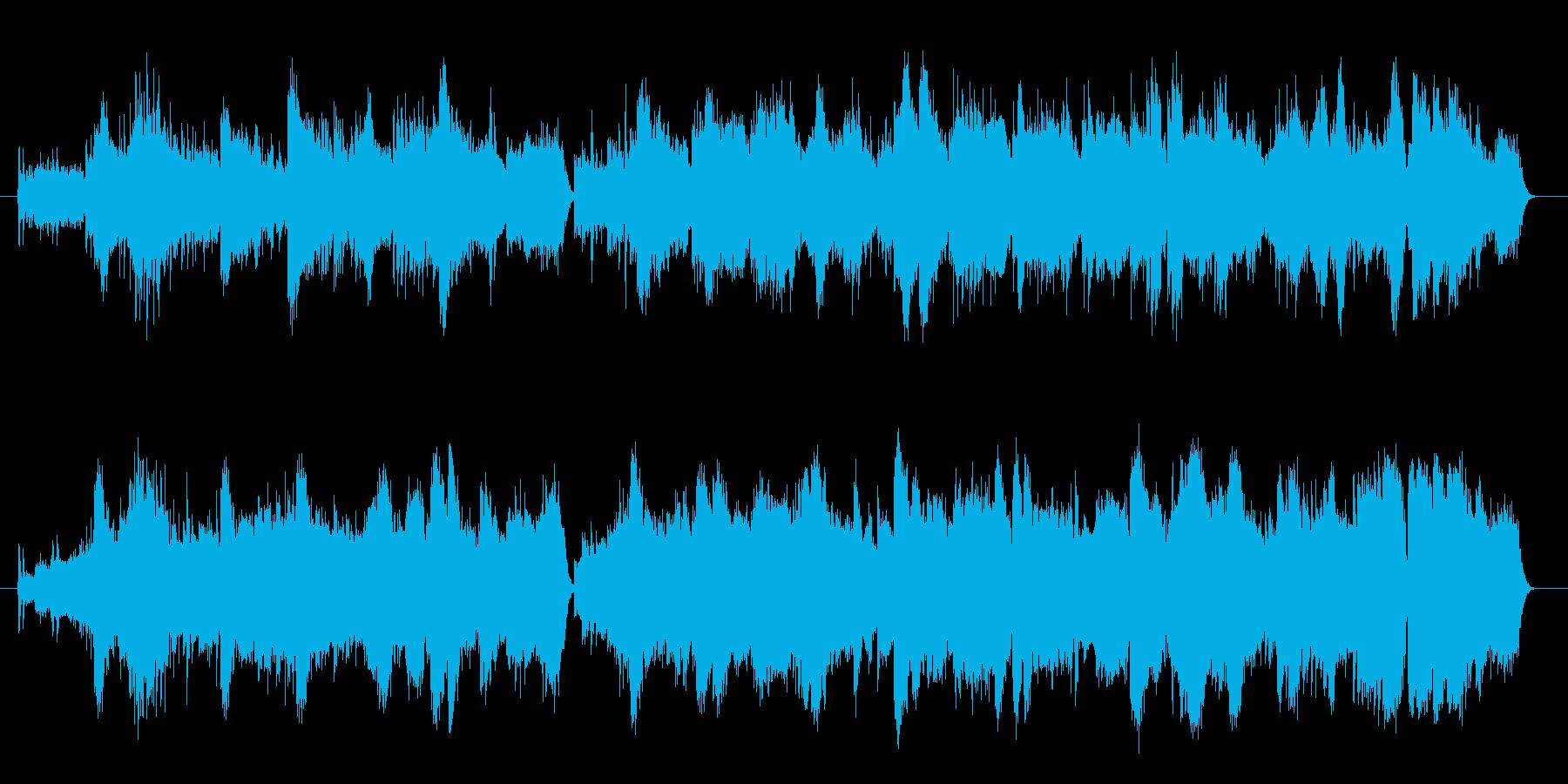 生命の源、水をイメージした弦とハープ・…の再生済みの波形