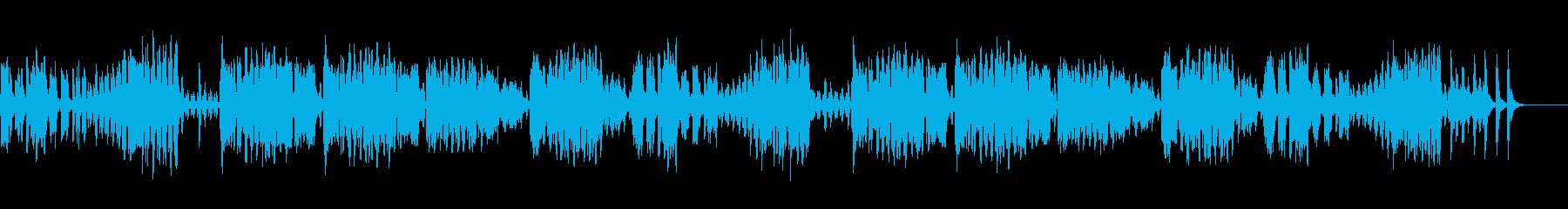 イタリアの大衆歌謡曲 フニクリ フニクラの再生済みの波形