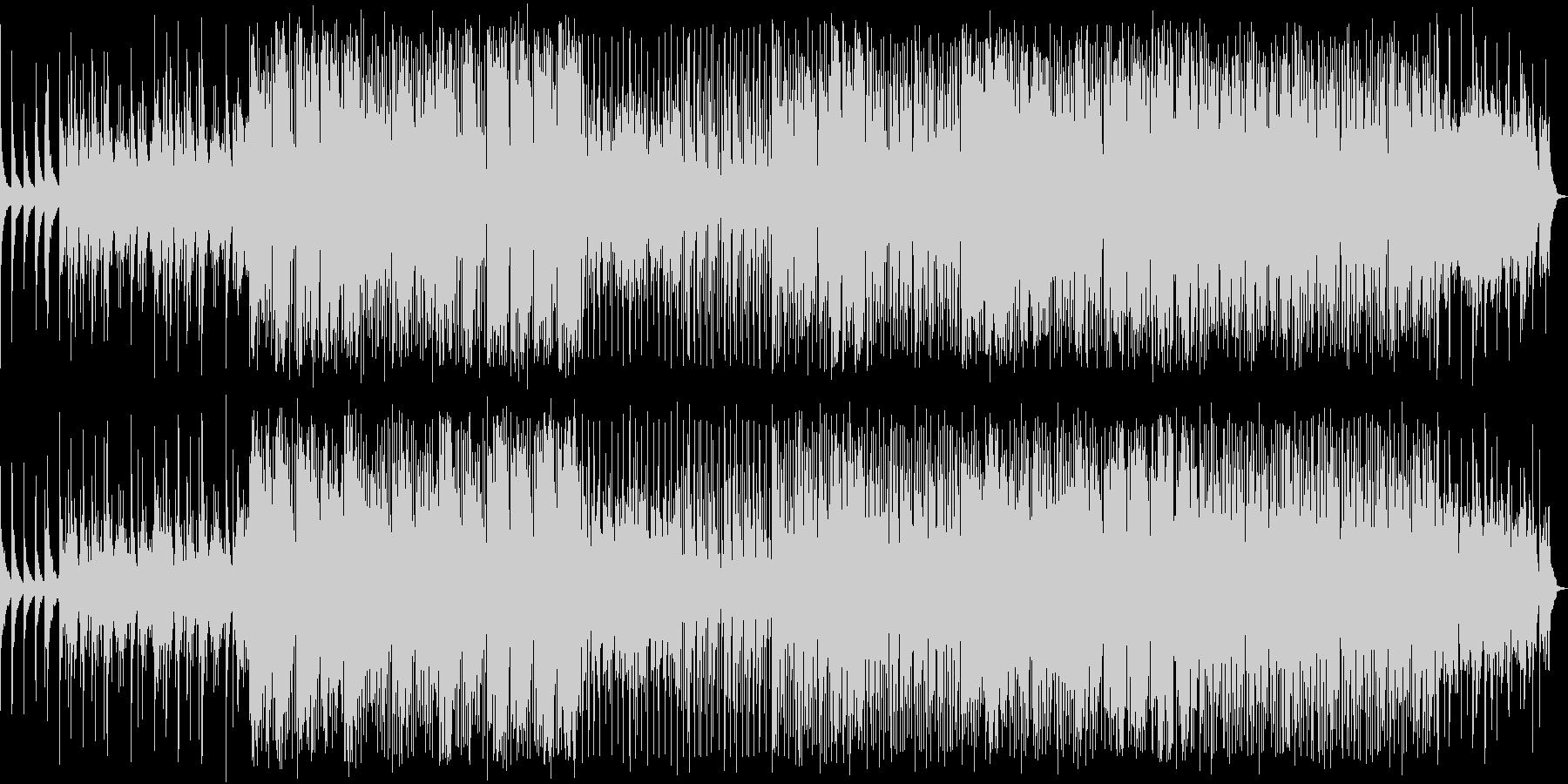 アコースティックギターで始まるBGMの未再生の波形