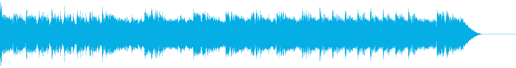 ゲーム:ピコピコしている音の再生済みの波形