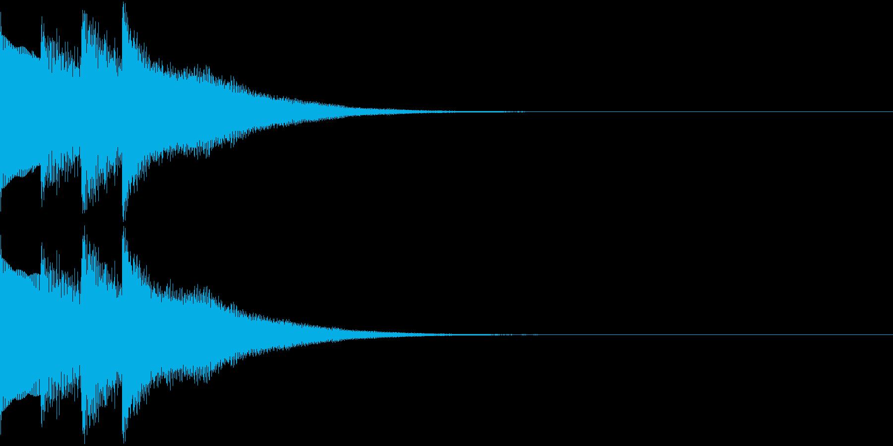 場内 アナウンス シンプル お知らせ 3の再生済みの波形
