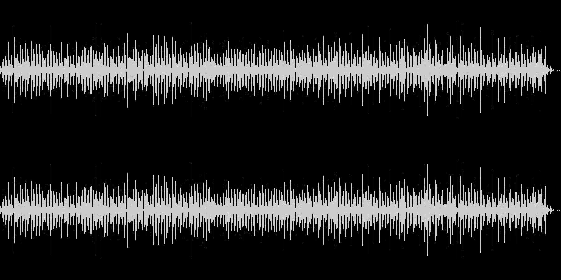 神楽鈴(小)をリズミカルに振る音の未再生の波形