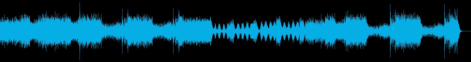 ブラームス作曲 ハンガリー舞曲の再生済みの波形