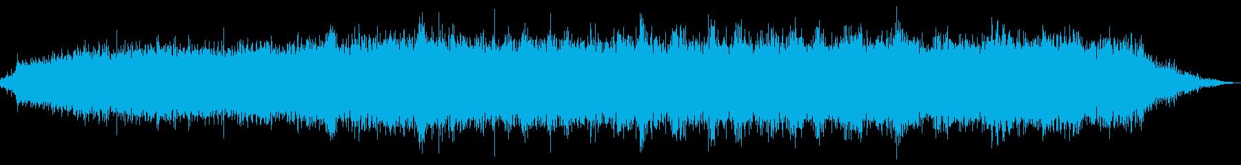 木の電気ドリルの単一の穴の再生済みの波形