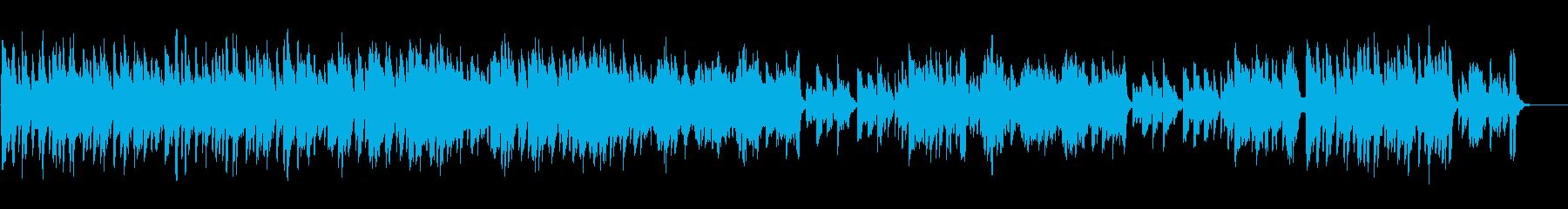 マリンバ等による明るいアンサンブルの再生済みの波形