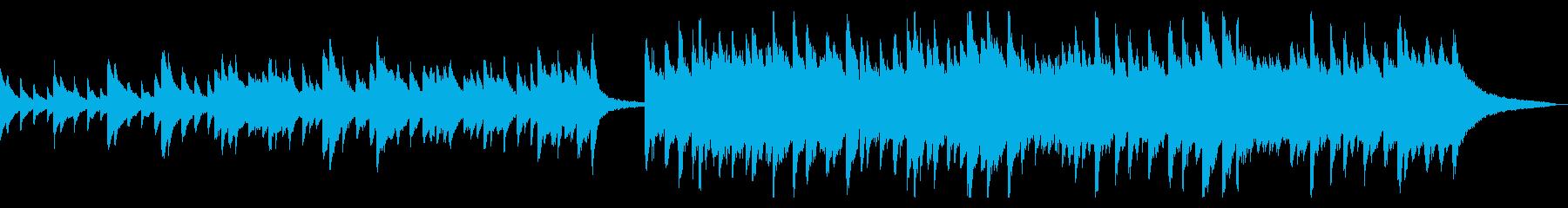 切ないピアノソングの再生済みの波形