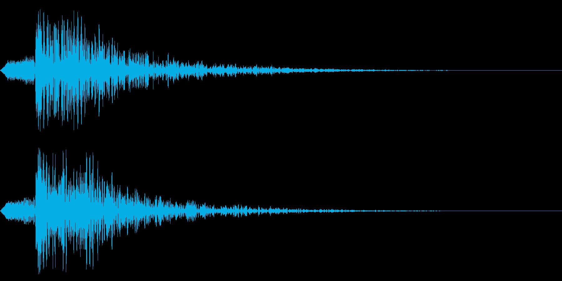 シネマティック ヒット!爆発!03の再生済みの波形