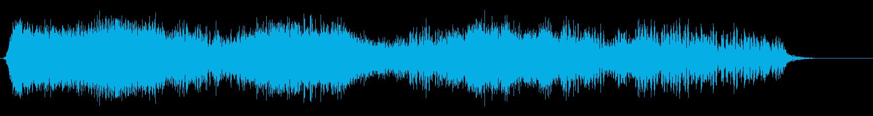 エネルギーパワーリボンの再生済みの波形