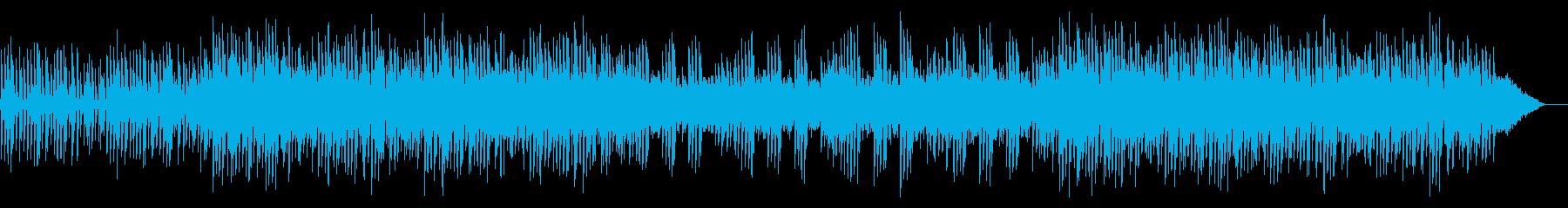 温かいピアノでほのぼの爽やかの再生済みの波形