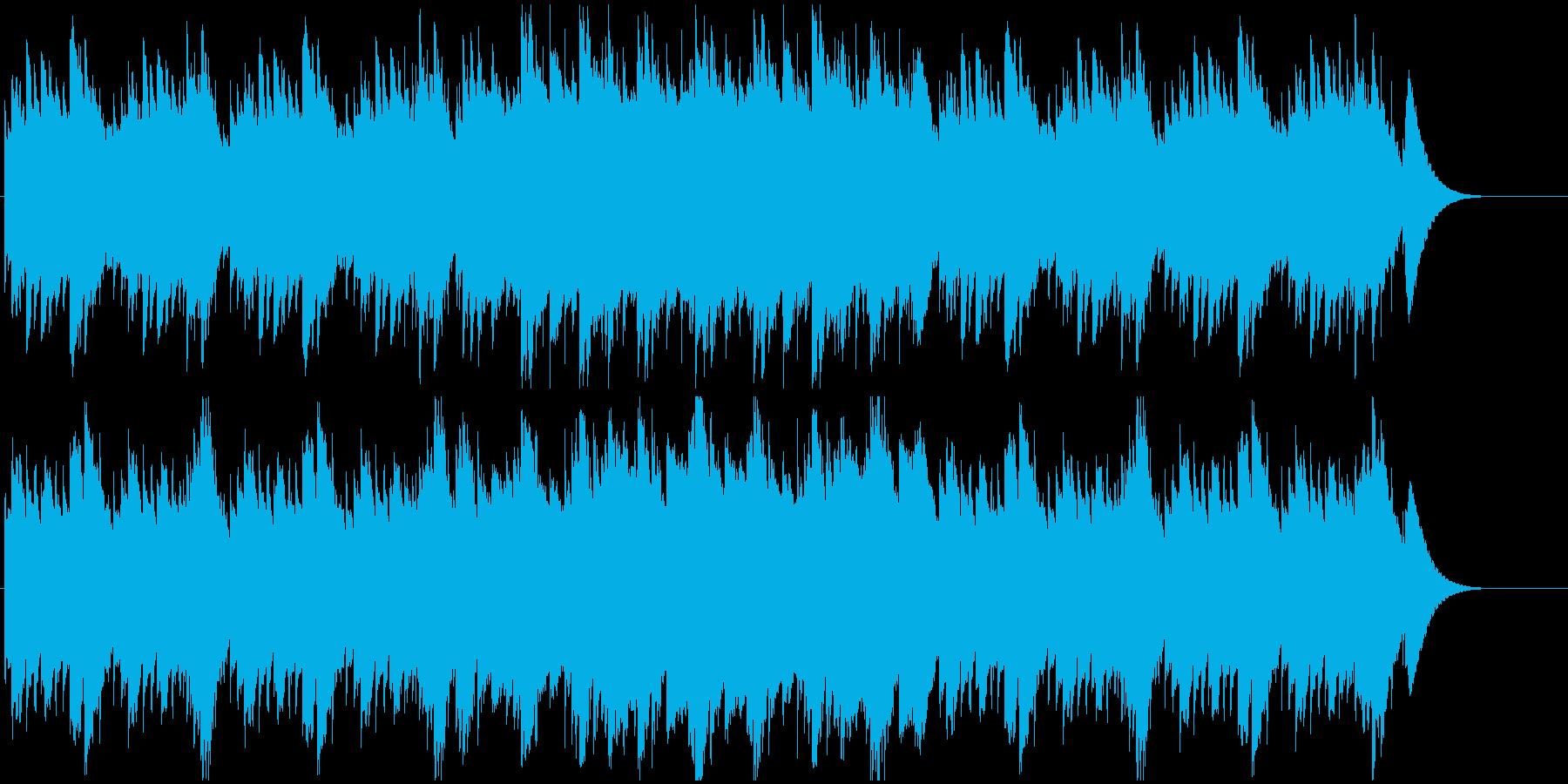 お洒落で絵本に合うオルゴールメロディーの再生済みの波形