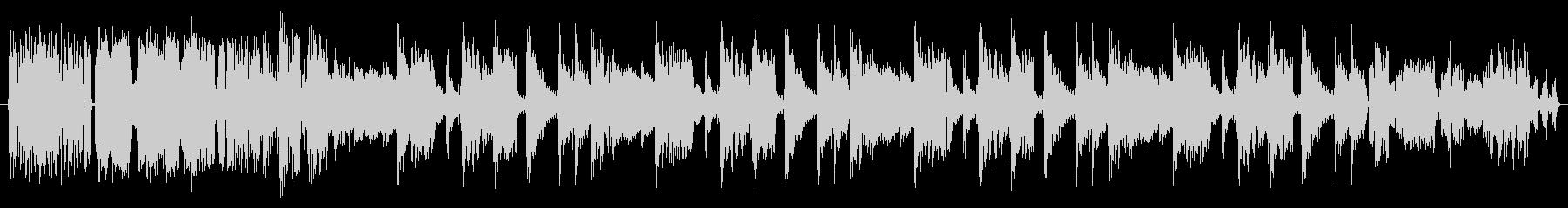 より多くの音楽の未再生の波形