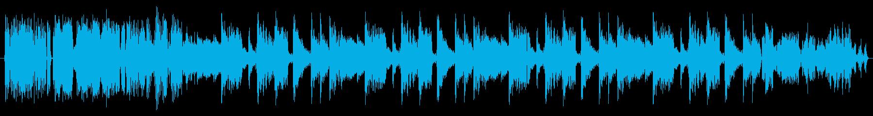 より多くの音楽の再生済みの波形