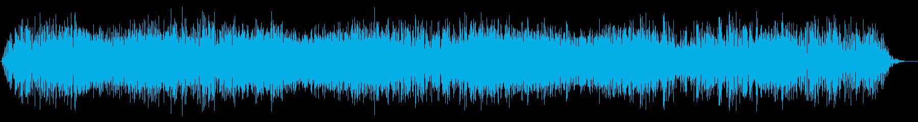 ゴゴゴゴ・・激しい地鳴り・地震の再生済みの波形