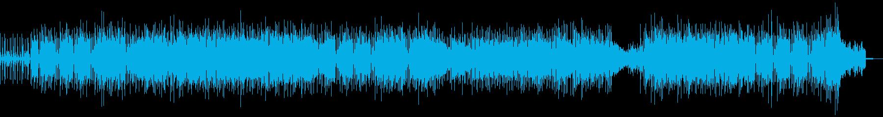 ドライブによく合うアメリカンな楽曲の再生済みの波形