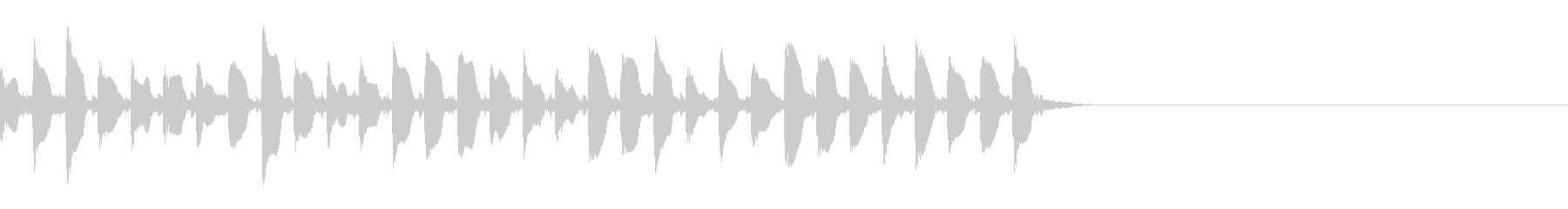 (話す、テキスト表示)長めA02の未再生の波形