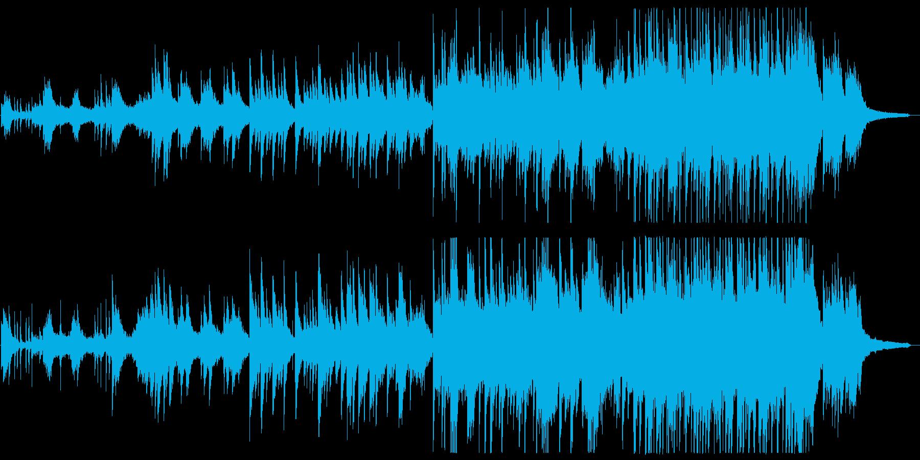 ピアノ生演奏 郷愁 青い海、島、企業VPの再生済みの波形