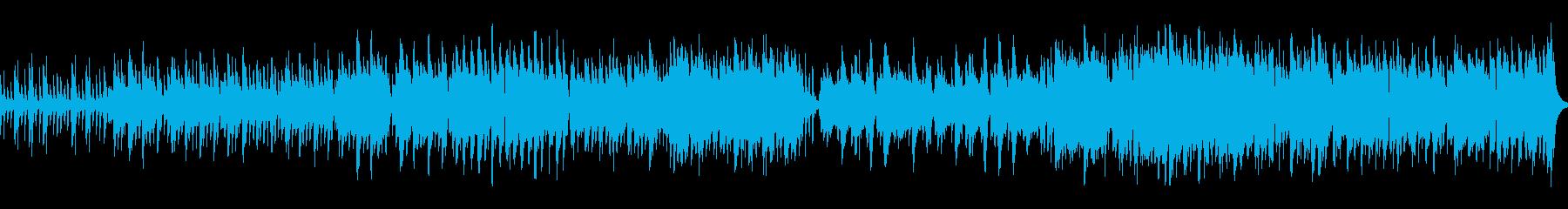 ファンタジーRPG 村や町の曲01の再生済みの波形