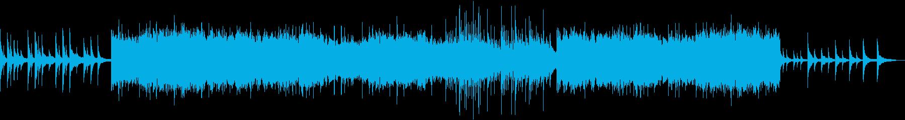 物語向けロマンティックなハープの曲の再生済みの波形