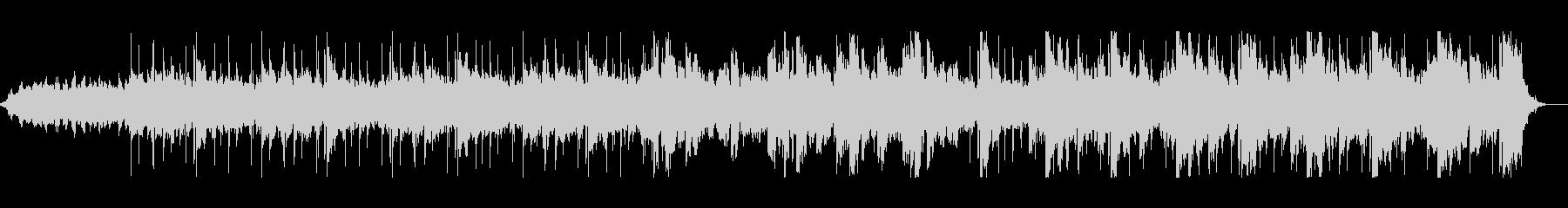 リラックスローファイBGMの未再生の波形