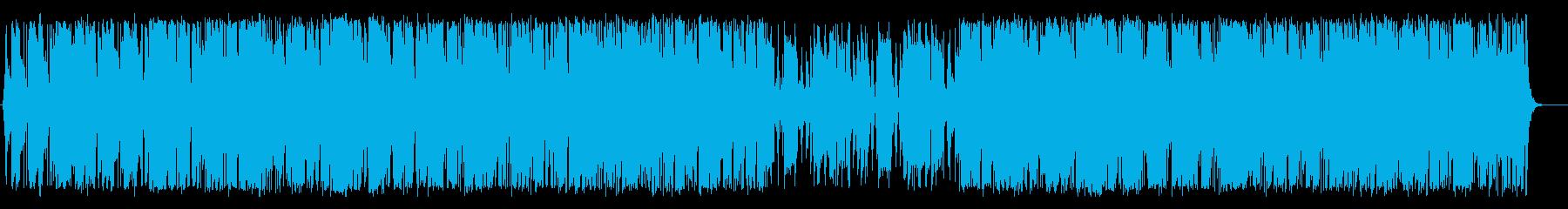 開放的・情熱的でおしゃれなラテンBGMの再生済みの波形