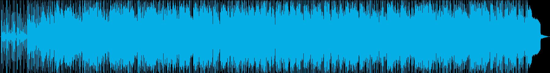 ソフト、ナイトリー、ギターソロの再生済みの波形