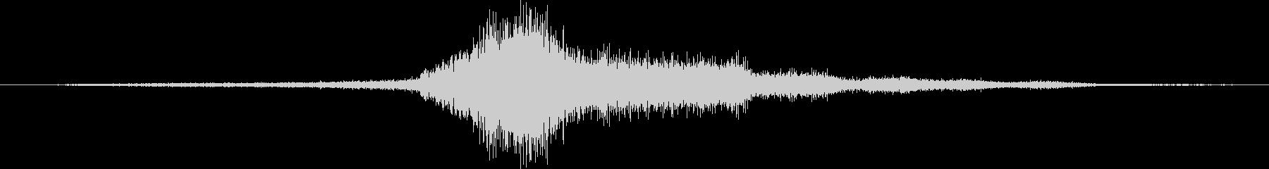 シボレーカマロ:内線:低速で左にア...の未再生の波形