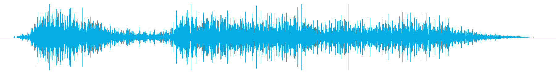 フライング ドラゴン コンテニュー時の再生済みの波形