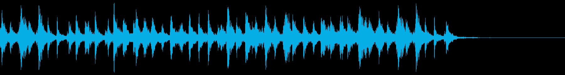 シャンシャンシャン クリスマスの鈴1の再生済みの波形