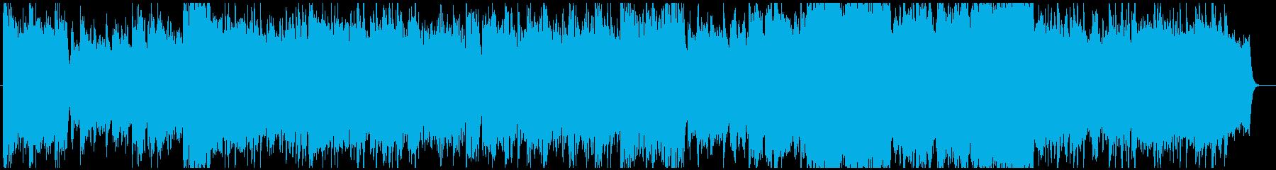 尺八の感動的和風バラードの再生済みの波形
