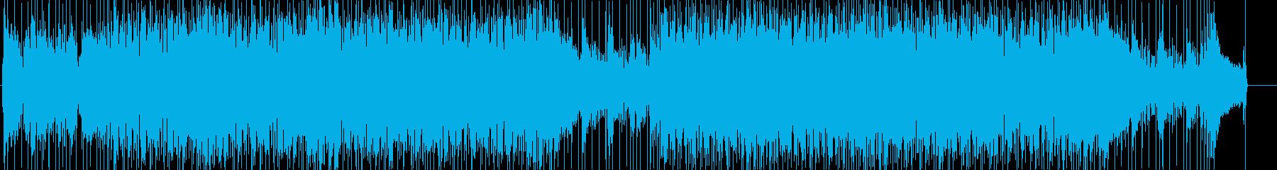 爽やかで軽快なロックフュージョンの再生済みの波形