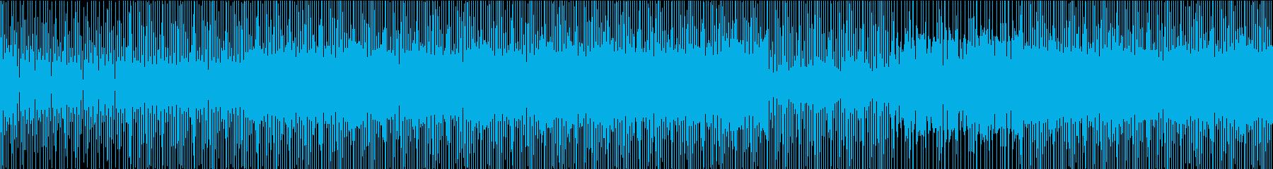 ミニマルテクノ-ydxの再生済みの波形